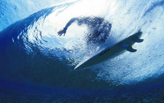 сёрфинг, ocean, волны