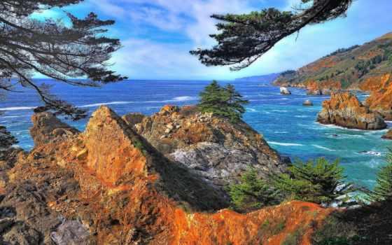 биг, sur, ocean, богатства, морей, уровни, жұмыс, природа, ответы, rock, картинка,