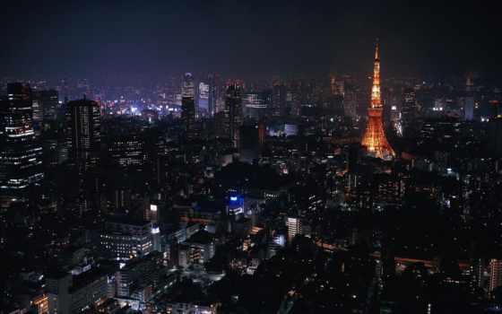 tokyo, her, париж, desktop, ночь, япония, pictures, заставки,