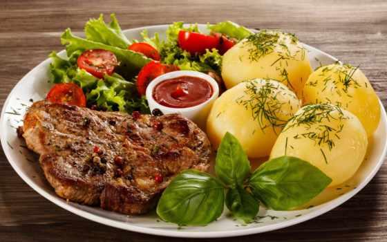 табличка, еда, картинка, вторые, производить, блюда, картофель, салаты, мясные, продукты,