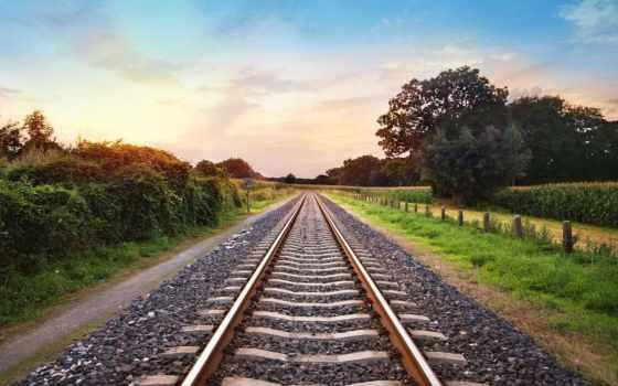дорога, железная, railroad, пикс, железный,