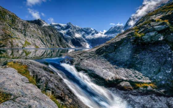 fiordland, national, parque, nacional, park, gratis, pixabay,