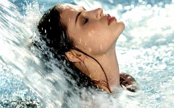 девушка, воды