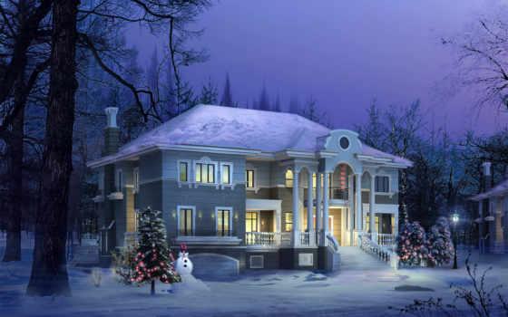 house, домов, architecture