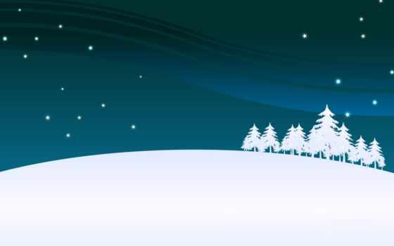 год, new, снег