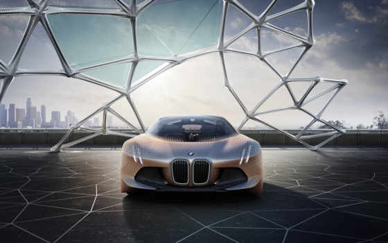 bmw, vision, next, мар, concept, car,