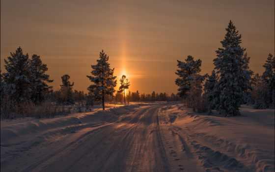 winter, зимние, широкоформатные, природа,
