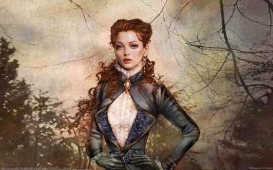 девушка, века, you, волосы, категории, век, прошлые, magnificent, средневековья, веке, одежда,