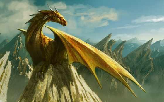 драконы, дракона, драконы, горы, красивые, эрагон, дракон,