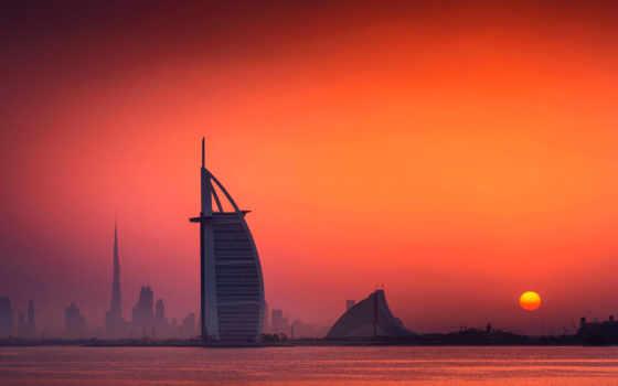 desktop, изображение, аль, арабский, небоскрёб, dubai, burj, оаэ,