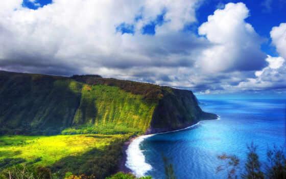 остров, hawaii, state, место, сша
