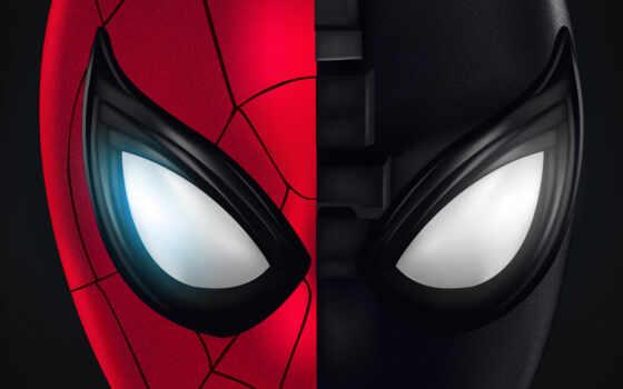 home, far, мужчина, паук, spiderman, масть