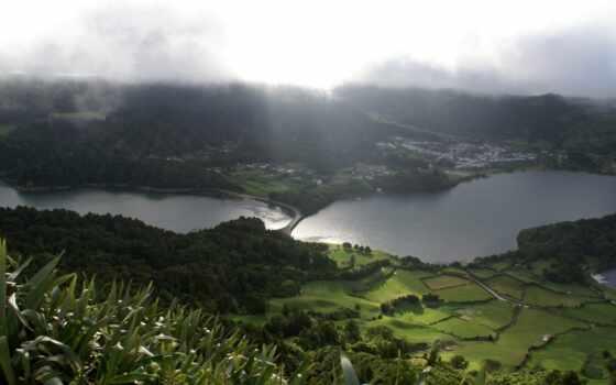 природа, реки, поля, зелёный, пейзажи -, cidades, sete, широкоформатные,