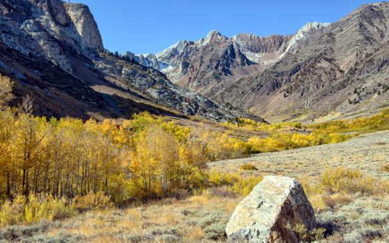 rocas, paisajes, naturaleza, fondos, valle, otoño, pantalla,