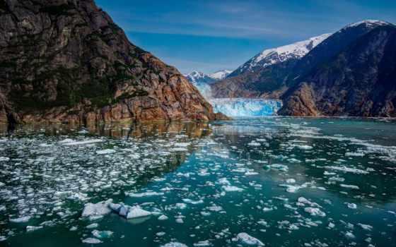 аляска, горы, glacier, природа, сша, state, national, разные,