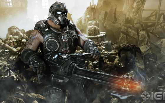 постапокалипсис, gears, war, clayton, carmine, игр,