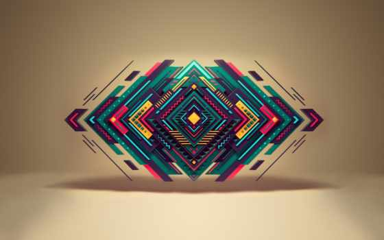 геометрия, треугольник, формы