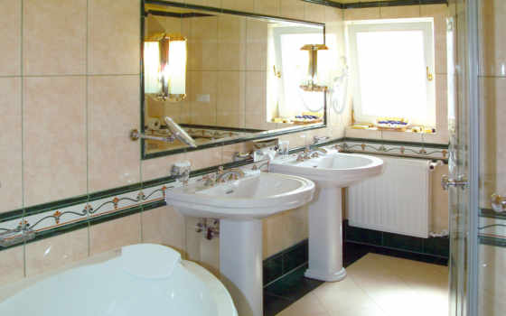 ванной, интерьер, полы