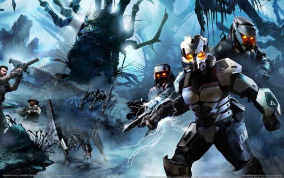 killzone, оружие, киллзон, солдаты, игры, games, guerrilla,