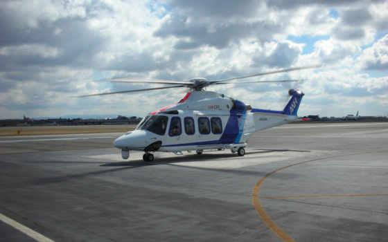 вертолет, agustawestland, aw