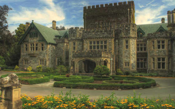 hatley, castle, хэтли, park, сайт, свой, historic, national, сады, victoria,