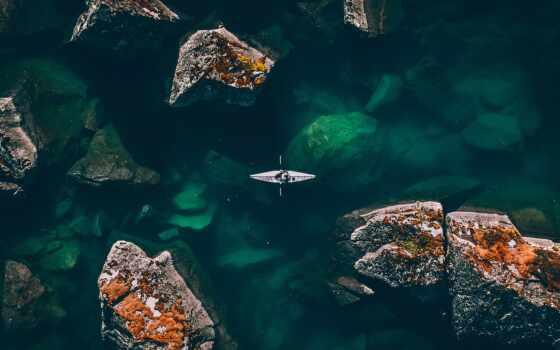 drone, гряда, undersea, гора, ocean