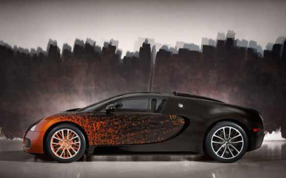 bugatti, veyron, grand Фон № 56101 разрешение 2560x1600