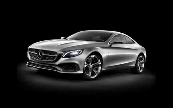 mercedes, coupe, benz, class, concept,