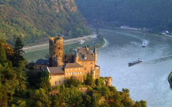замки, города, картинка, german, дворцы,