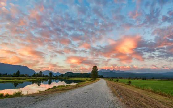 тропинка, stock, выгул, images, питт, photos, прогулка, meadows, гравий, река,