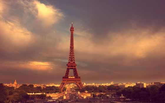 turret, эйфелева, париж, небо, oblaka, french, iphone,