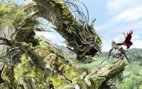 deynega, анна, драконы