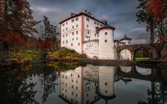 slovenia, bleed, озеро, castle, море, альпы, julian, winter, summer, piran
