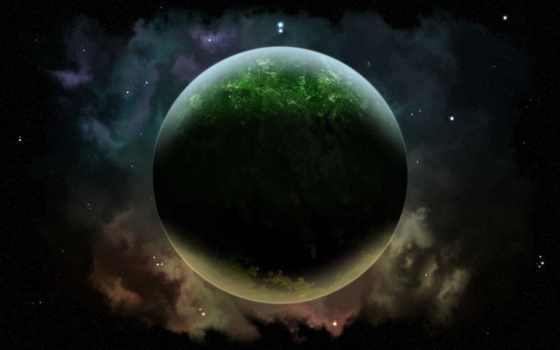 планета, звезды Фон № 17522 разрешение 1920x1200