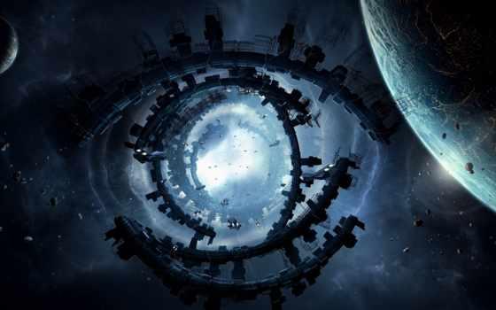 kosmos, енергия, art, planeta, планеты, корабли, сооружение, земля,