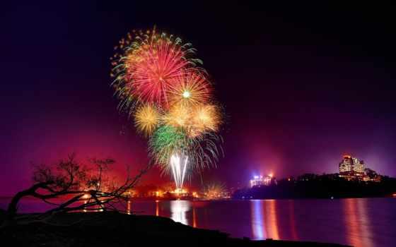 красивые, фейерверки, девушки, fireworks, печатное, издание,