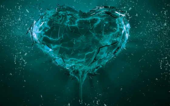 сердце, broken, desktop