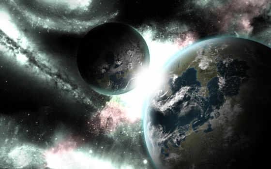 planets, desktop, взгляд