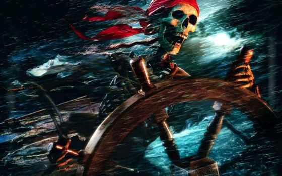 моря, карибского, пираты, штурвал, остов, красивые, sherlock, приколы, widescreen,