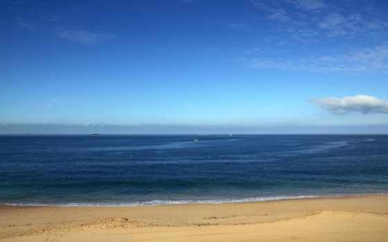 горизонт, пляж, море, blue, seaside, туры, free, небо,