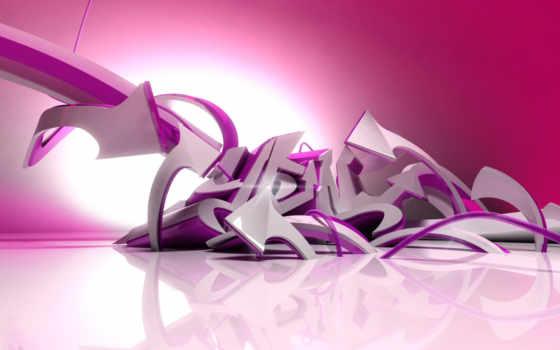 graffiti, фиолетовые, заставки