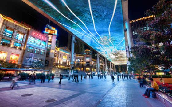 красивые, город, самый, города, fonday, торговых, большой, самые, центров, москве, решения,