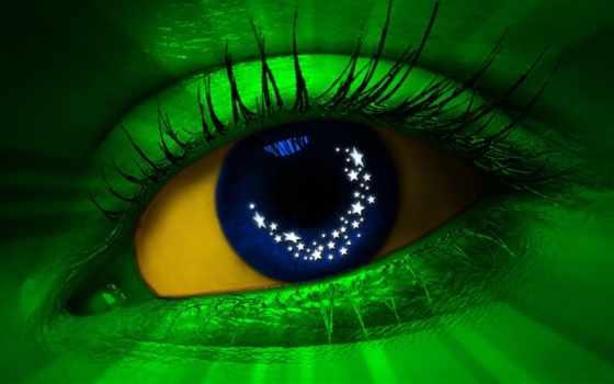 brazil, флаг, brasil, бразилии, fantasy, глаз,