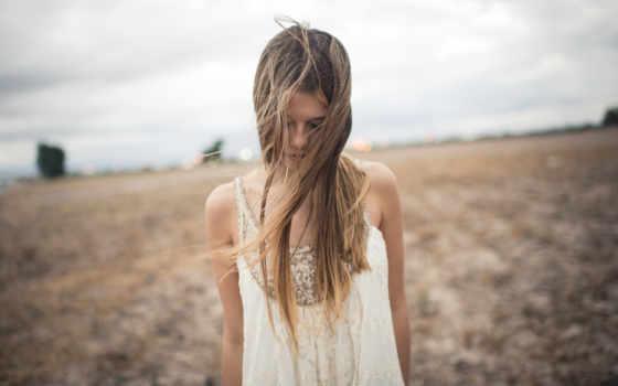 девушка, поле, ветер, грязная, модель, пикс, клипарт, растровый, astrological,