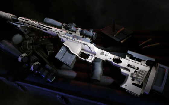 снайпер, винтовка, ghost, remington, воин, оружие, прицельный, пистолет, глушитель