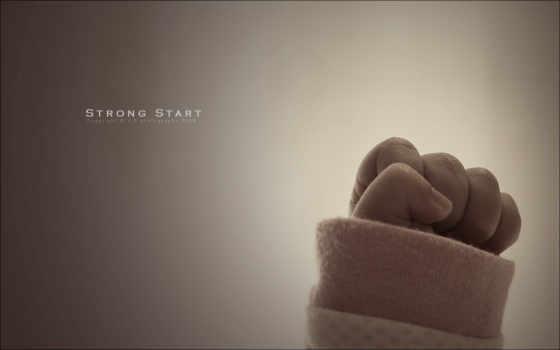 strong, start