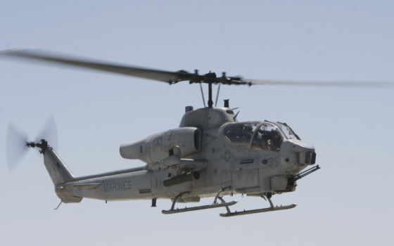 авиация, высоком, вертолет, кабина, фотообоев, пулемет,