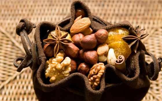еда, напиток, fruits, walnut, full, desktop,