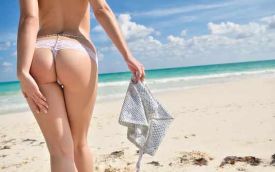 пляж, попка, девушка, пляже, panties, бикини, brunette, babe, песок, попки, маленькие,