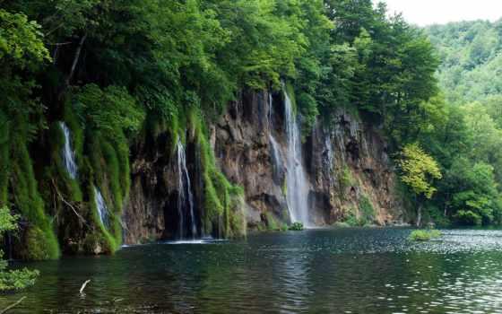 national, park, plitvice, lakes, хорватия, природа, water, водопад, водопады,